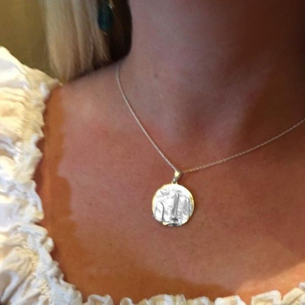Outlander Inspired Limited Edition Silver Pendant 1045